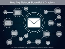 Blue Sky Network Powerpoint Graphics