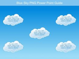 Blue Sky Png Power Point Guide
