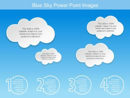 Blue Sky Power Point Images
