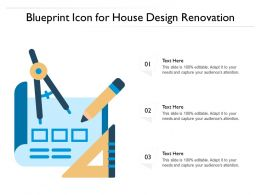 Blueprint Icon For House Design Renovation