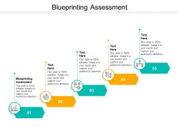 Blueprinting Assessment Ppt Powerpoint Presentation Inspiration Graphic Tips Cpb