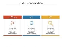 BMC Business Model Ppt Powerpoint Presentation Portfolio Design Templates Cpb