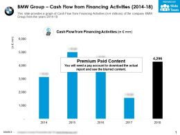 BMW Group Cash Flow From Financing Activities 2014-18