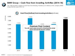 BMW Group Cash Flow From Investing Activities 2014-18