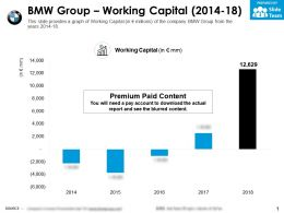 BMW Group Working Capital 2014-18