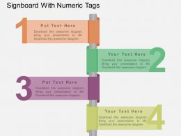 bo_signboard_with_numeric_tags_flat_powerpoint_design_Slide01