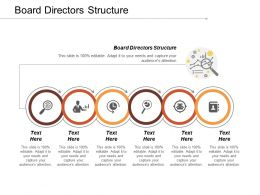 Board Directors Structure Ppt Powerpoint Presentation Gallery Design Inspiration Cpb