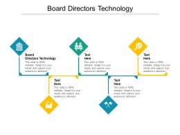 Board Directors Technology Ppt Powerpoint Presentation Gallery Slides Cpb
