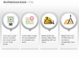 board_gps_navigation_roller_geometry_tools_ppt_icons_graphics_Slide01