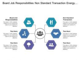 Board Job Responsibilities Non Standard Transaction Energy Product
