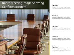 Board Meeting Image Showing Conference Room