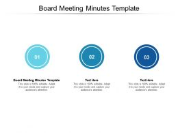 Board Meeting Minutes Template Ppt Powerpoint Presentation Infographics Master Slide Cpb