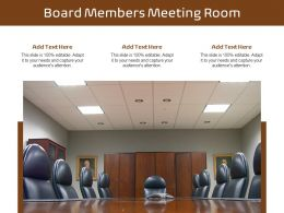 Board Members Meeting Room