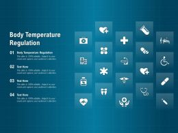 Body Temperature Regulation Ppt Powerpoint Presentation Pictures Tips