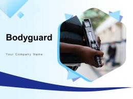 Bodyguard Security Government Conference Terrace Interacting Businessman