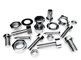 Bolts And Nuts Graphic Stock Photo