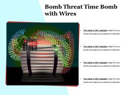 Bomb Threat Time Bomb With Wires