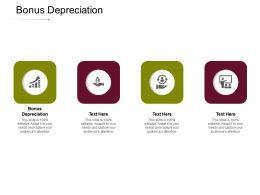 Bonus Depreciation Ppt Powerpoint Presentation Outline Ideas Cpb