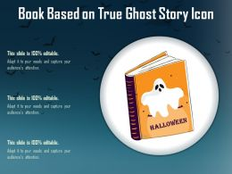Book Based On True Ghost Story Icon