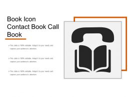 Book Icon Contact Book Call Book