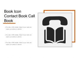 Book Icon Contact Book Call Book