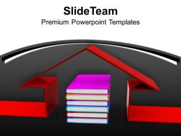 book_under_3d_house_education_powerpoint_templates_ppt_themes_and_graphics_0113_Slide01