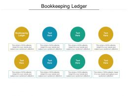 Bookkeeping Ledger Ppt Powerpoint Presentation Professional Demonstration Cpb