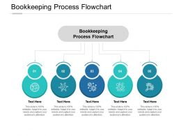 Bookkeeping Process Flowchart Ppt Powerpoint Presentation Icon Examples Cpb