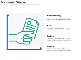 Bookmark Sharing Ppt Powerpoint Presentation File Graphics Download Cpb
