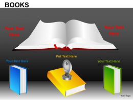 Books Powerpoint Presentation Slides DB