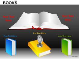 Books Powerpoint Presentation Slides DB