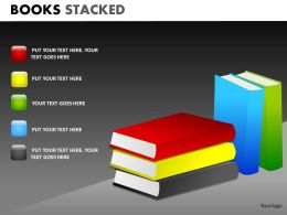 Books Stacked2 PPT 10