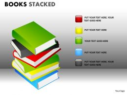 Books Stacked2 PPT 11