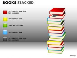 Books Stacked2 PPT 12