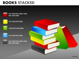 Books Stacked2 PPT 13