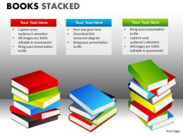 Books Stacked2 PPT 14