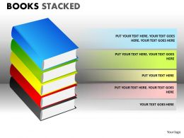 Books Stacked2 PPT 1