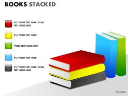 Books Stacked ppt 10