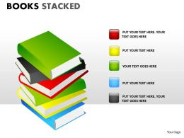 Books Stacked ppt 11