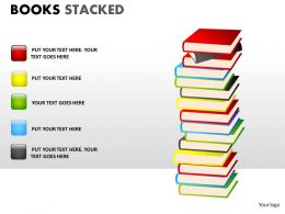 Books Stacked ppt 12