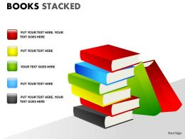 Books Stacked ppt 13