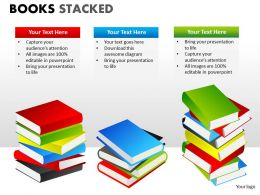 Books Stacked ppt 14