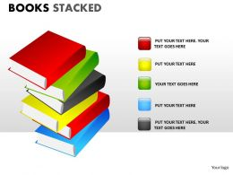Books Stacked ppt 15