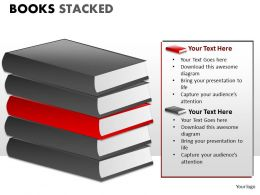 Books Stacked ppt 4