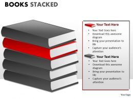 Books Stacked ppt 5