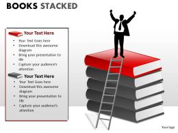 Books Stacked ppt 7