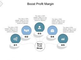 Boost Profit Margin Ppt Powerpoint Presentation Show Graphics Tutorials Cpb