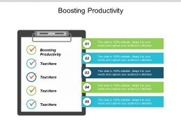 Boosting Productivity Ppt Powerpoint Presentation Pictures Microsoft Cpb