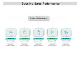 Boosting Sales Performance Ppt Powerpoint Presentation Gallery Slides Cpb