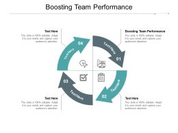 Boosting Team Performance Ppt Powerpoint Presentation Pictures Example Cpb